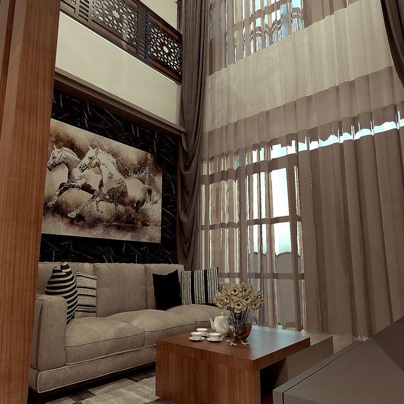 jasa desain arsitek villa