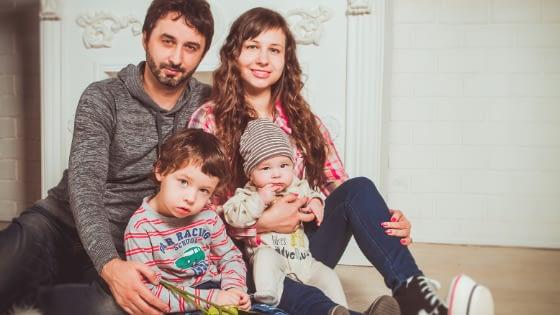 Keluarga Kecil Rumah Modern Minimalis
